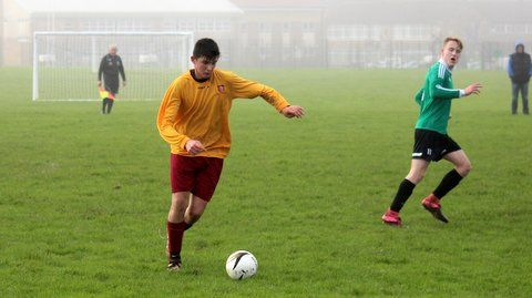 Action from the U16 match against Croydon